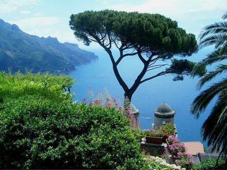 Astonishing views of the Mediterranean  -  Ravello | Italia Mia | Scoop.it