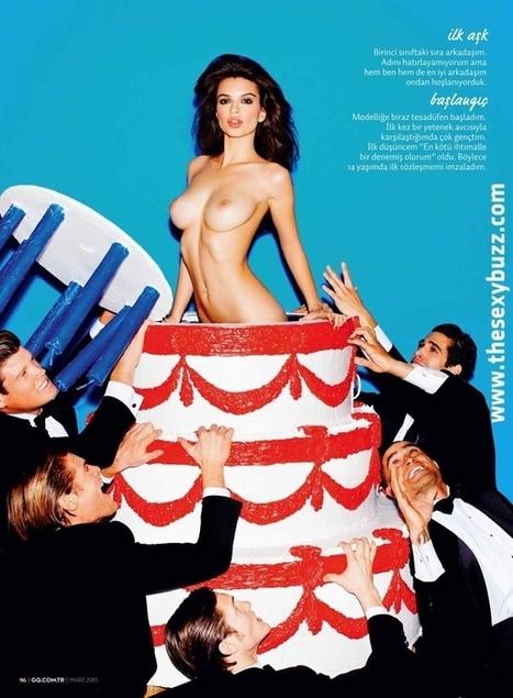 Emily Ratajkowski seins nus dans le dernier numéro du GQ turquie ! - photo | Radio Planète-Eléa | Scoop.it