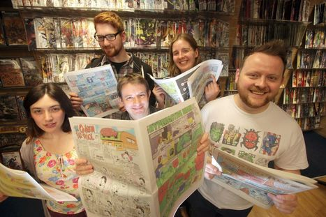 Newcastle science comic aiming to educate youngsters   Science - public communication&understanding   Scoop.it