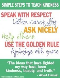 Simple Steps for Teaching Kindness to Kids | TheHomeSchoolMom.com | Artículos Homeschooling | Scoop.it