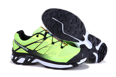 Salomon XT Wings 3 Trail Running Shoes Light Green Black | fashion collection | Scoop.it