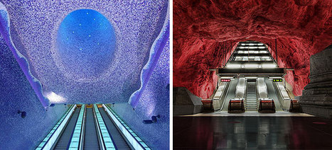 24 Of The Most Impressive Metro Stations Around the World | 16s3d: Bestioles, opinions & pétitions | Scoop.it
