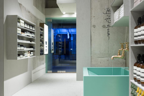 Aesop skin care shop interior by Torafu Architects in Kyoto, Japan | CRAW | Scoop.it