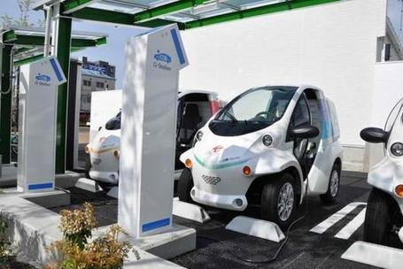 Toyota Installs Electric Mobility Charging Station In Japan - Ubergizmo | Car info & Service Tips | Scoop.it
