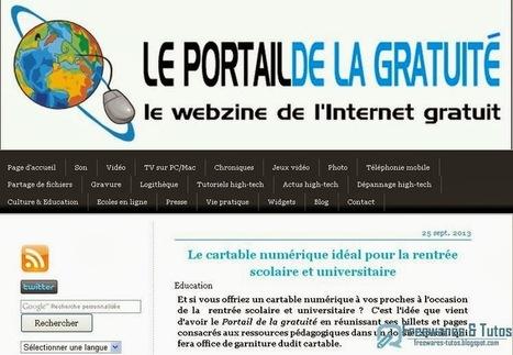 Le cartable numérique virtuel pour la rentrée scolaire et universitaire | Time to Learn | Scoop.it