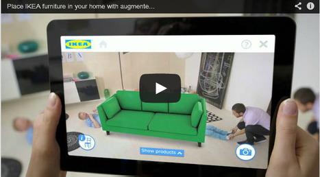 [Marque] Ikea enrichit l'expérience utilisateur avec un catalogue en réalité augmenté - Communication world | média cinéma | Scoop.it