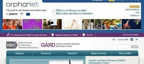 Los portales GARD y Orphanet compartirán su información sobre enfermedades raras | Salud Publica | Scoop.it