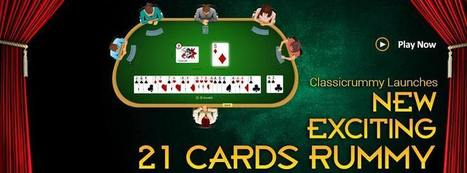 How To Play 21 Cards Rummy? Find Out Now! | Rummy Cards Game | Scoop.it