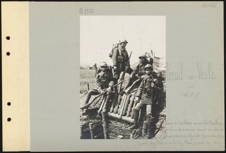 Les albums Valois : 50 000 photographies de la Première Guerre mondiale accessibles en ligne ! - L'Argonnaute (BDIC) | Nos Racines | Scoop.it