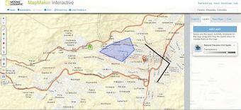 Geoinformación: Nacional Geographic MapMaker Interactive una buena alternativa a Google Maps para el aula.   #GoogleMaps   Scoop.it