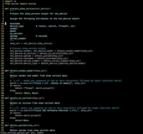 #Python for #Network Engineers, free course, starts Thursday 10/27 | #Security #InfoSec #CyberSecurity #Sécurité #CyberSécurité #CyberDefence & #DevOps #DevSecOps | Scoop.it
