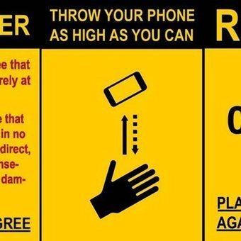 Apple bans brilliantly idiotic phone-throwing app | Mats Djärf | Scoop.it