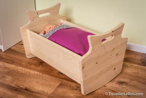 [Coup de ♥] Fabrication d'un lit de poupée en bois par AlexDSL sur le #CDB | Best of coin des bricoleurs | Scoop.it