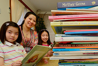 At home with a passion for reading | Reading Matters | Scoop.it