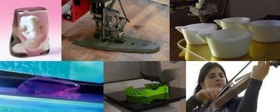 Violon, bijou, maquette d'archi, fœtus ou même arme, imprimez tout en 3D | FabLabs & Open Design | Scoop.it