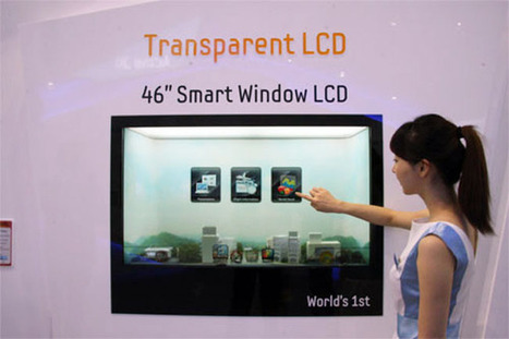 Samsung's 46 Inch Transparent Window LCD Display Goes Into Production » Geeky Gadgets | Retail Design and Technology | Scoop.it
