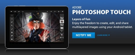 Adobe Photoshop Touch para Android | santecTIC | Scoop.it