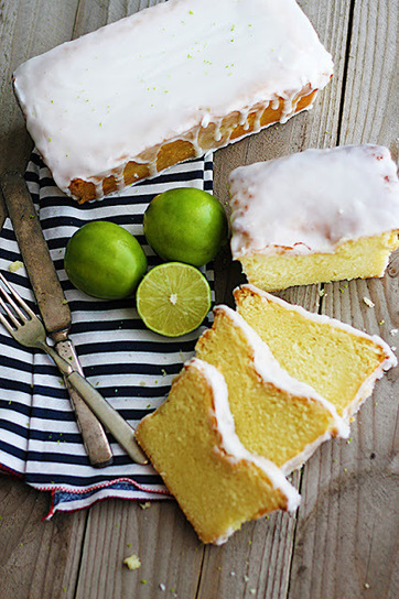 Coconut Lime {Greek Yogurt} Pound Cake   Recipes   Scoop.it