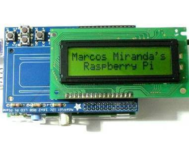 MirandaSoft!: Raspberry Pi: Coding the Adafruit I2C 16x2 LCD Pi Plate for Generic Character LCD - element14 | Arduino, Netduino, Rasperry Pi! | Scoop.it