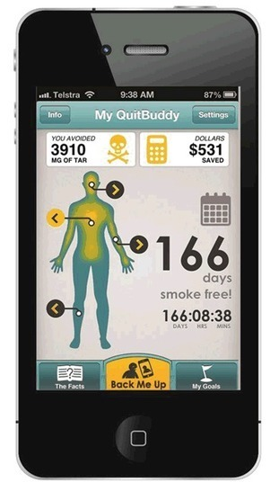 quitnow - My QuitBuddy | The Health Story | Scoop.it
