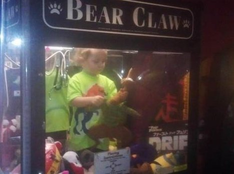 Missing Toddler Found Playing Inside Toy Vending Machine | Strange days indeed... | Scoop.it