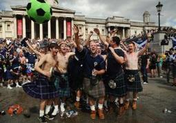 Scotland Fans Descend on London Ahead of Rare Soccer Game vs. England | Sports | Scoop.it