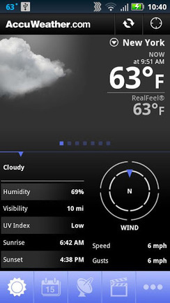 AccuWeather Platinum apk v2.1.8 download | free android apps download | Scoop.it
