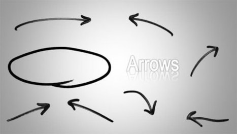 Hand Drawn Arrows for PowerPoint Presentations | business presentation | Scoop.it