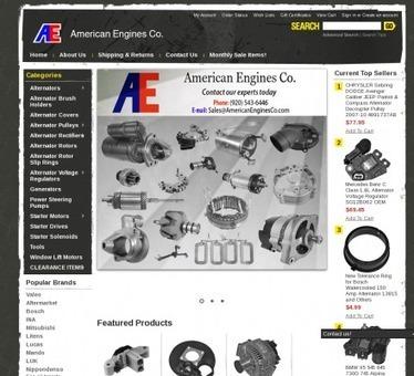 American Engines Co. - American Engines Co is a top line supplier of OEM (Original Equipment Manufacturer. | Alternators | Scoop.it