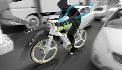 Una bicicleta que 'se come' la polución del aire de la ciudad - Noticias de Tecnología | Deporte, ciencia y vida | Scoop.it