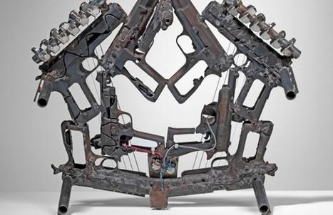 Disarm Project : un artiste transforme des armes à feu en instruments de musique | Trollface , meme et humour 2.0 | Scoop.it