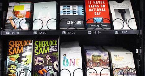 À quand notre tour ? Des distributeurs de livres sont installés dans les rues de Singapour | Veille professionnelle des Bibliothèques-Médiathèques de Metz | Scoop.it