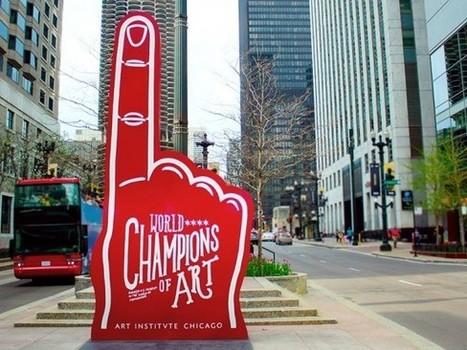 """L'Art Institute of Chicago lance une campagne de communication décalée """"Champions du monde de l'Art"""" I @Club Innovation Culture   Citizen Com   Scoop.it"""