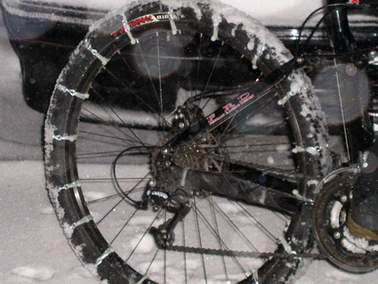 MtnBikeRiders.com » Blog Archive » Bicycle Tire Chains   The Amazing Racing Bicycle   Scoop.it