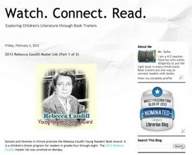 Watch. Connect. Read.: 2012 Rebecca Caudill Award | librariansonthefly | Scoop.it