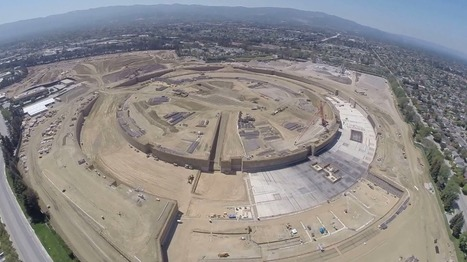 A Drone Flew Over Apple's New Campus, And What It Saw Was Amazing   How cool it is?!   Scoop.it