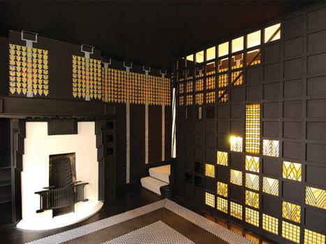 78 Derngate: a hidden Mackintosh gem | jennyvintage | Vintage and Retro Style | Scoop.it