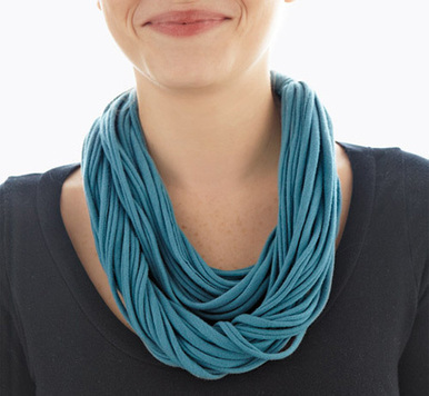 10 Ways to Reuse an Old T-Shirt - Earth911.com | Upcycled jewelry | Scoop.it