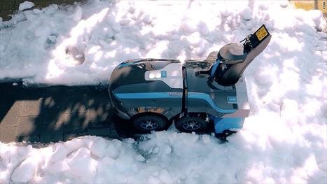 This robot will rake your leaves and shovel snow | Une nouvelle civilisation de Robots | Scoop.it