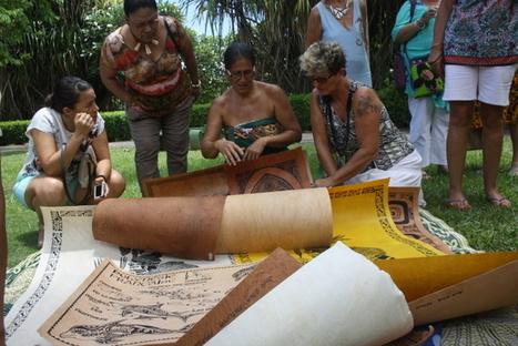 Un documentaire sur le tapa aux Marquises en préparation | Tahiti Infos | Kiosque du monde : Océanie | Scoop.it