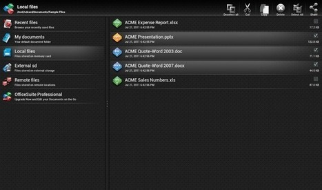 OfficeSuite Viewer 5: View Local & Cloud Documents On The Go [Android]   Time to Learn   Scoop.it