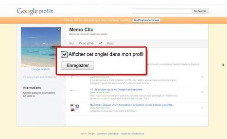 Où sont stockées vos recommandations Google +1 ? - MemoClic   Google - le monde de Google   Scoop.it