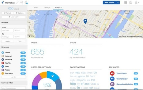 Geofeedia | Mapping Tools and Technologies | Scoop.it
