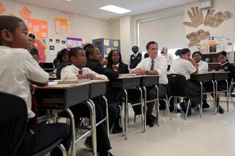 Romney downplays value of classroom sizes - The Last Word | Classroom Sizes Affect Student Learning | Scoop.it