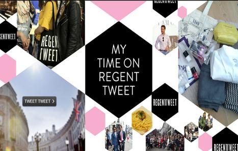 Influencia - Tendances - Regent Tweet : quand le shopping devient une affaire de tweets... | magasin physique et connections numériques | Scoop.it