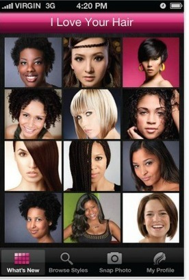 Mobile Beauty App Launches for Multicultural Women | Digital Luxury Chronicles | Scoop.it