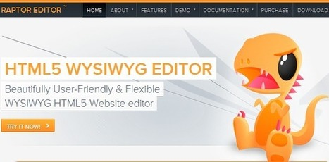 10 HTML5 text editors for web developers and designers | Design Ideas | Scoop.it
