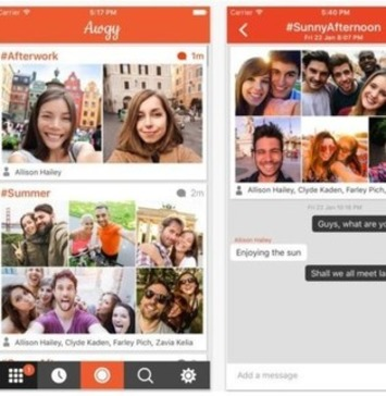 Le selfie a son réseau social   Relations publiques, Community Management, et plus   Scoop.it