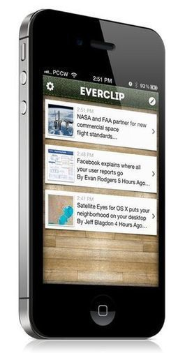App Spotlight: EverClip copies your iOS clipboard to Evernote | PCWorld | Organized with Evernote | Scoop.it