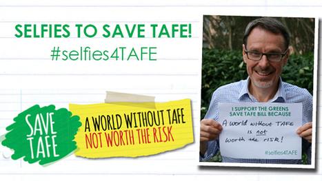 Greens Save TAFE bill campaign update April 2014 | John Kaye MLC | Digital Education | Scoop.it